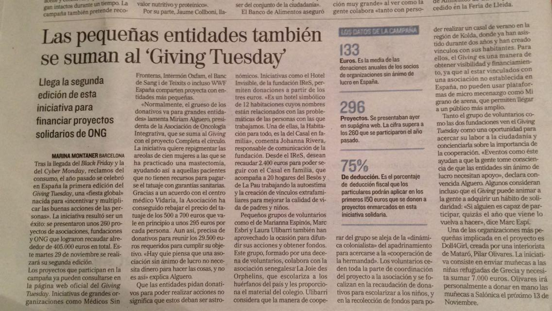 Hotel Invisible El Mundo #GivingTUesday