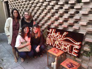 L'equip del Gremi d'Hotels de Barcelona, Hotel Alexandra i Fundació IReS a l'acte d'inauguració de la Setmana de les Terrasses