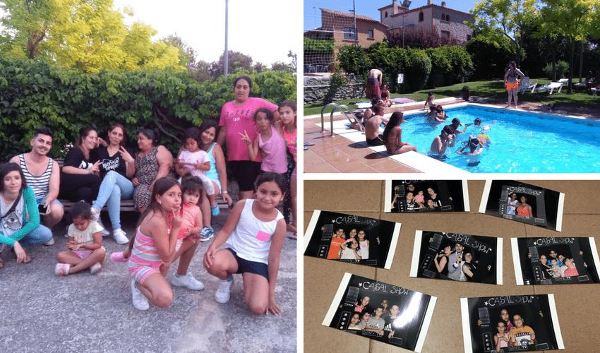 Activitats d'estiu del Casal en Família