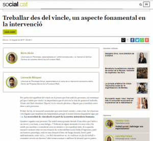 Article Social.cat Aferra't Vincle