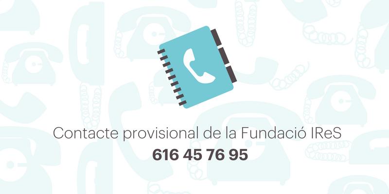 Nou telèfon de la Fundació IReS (3)