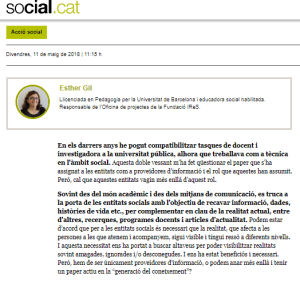 SOCIAL CAT ESTHER GIL