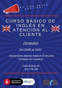 Cartell difusió anglès